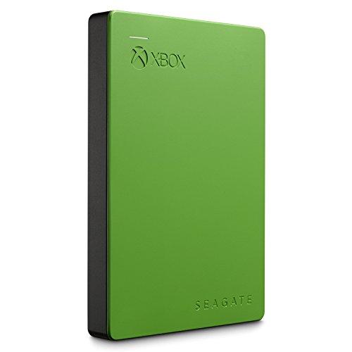 Seagate Game Drive für Xbox 2TB, grün; externe tragbare Festplatte für Xbox One & 360; USB 3.0 (STEA2000403)