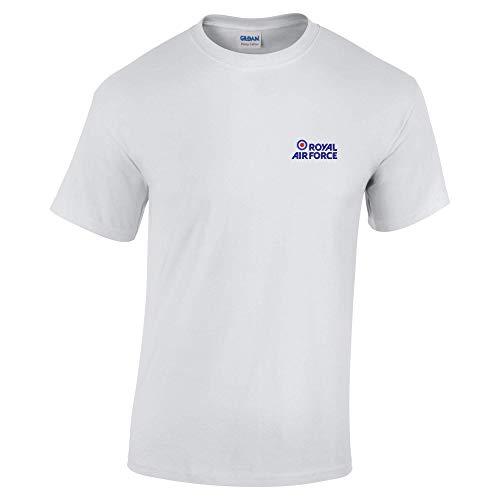Royal Air Force Bestickt T-Shirt Gr. XXL, Asche