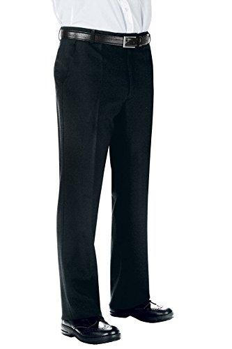 Isacco Pantalone Uomo senza Pinces - Isacco Nero+Bianco - 20232
