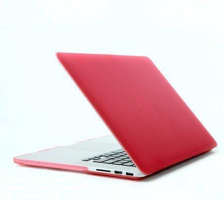 Bingsale® Matt Tasche Case für Apple MacBook Pro Retina 13 Zoll mit Retina Display Model Schutzhülle Etui (ohne Apple Ausschnitt logo) (Farbe: Schwarz, Transparent,Marine Blau, Baby Blau,Rosa, Lila,Rot,Gelb,Grau,Grün) (Rosa)