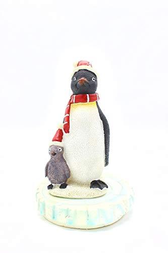 Teichdeko Teich-Deko Pinguin Teich Dekoration für den Teich