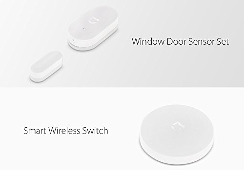 Desconocido Generico Smart Home Security Kit Xiaomi – Gateway, Window And Door Sensore, Smart Switch, Human Body Sensore, Smart outlet