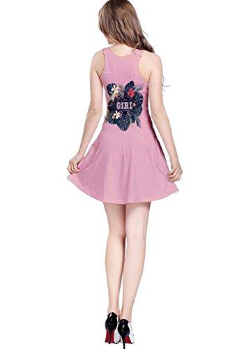 CowCow Damen Kleid Violett Violett - Pink Girl