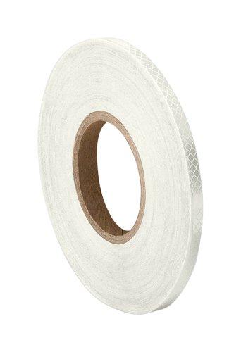 TapeCase 3430 Mikro-Prismatikband, reflektierend, umgewandelt von 3M 3430, 0,6 x 50 m, Weiß