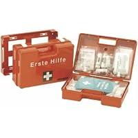 Leina Werke Erste-Hilfe-Koffer SAN mit Druck DIN 13157 orange preisvergleich bei billige-tabletten.eu