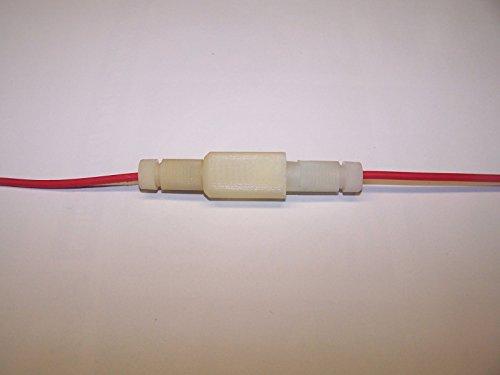 posi-fuse rund Inline Sicherungshalter 12–18Ga Draht (2Pack) Draht nicht im Lieferumfang enthalten