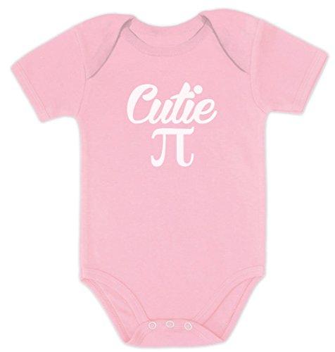 Cutie Pie Baby Rosa 0-3 Kurzarm-Body Baby Body (Nerd Ideen)