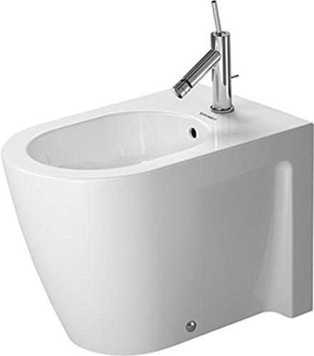 Duravit Starck 2 Stand-Bidet weiß 370 x 570 mm, 2255100000
