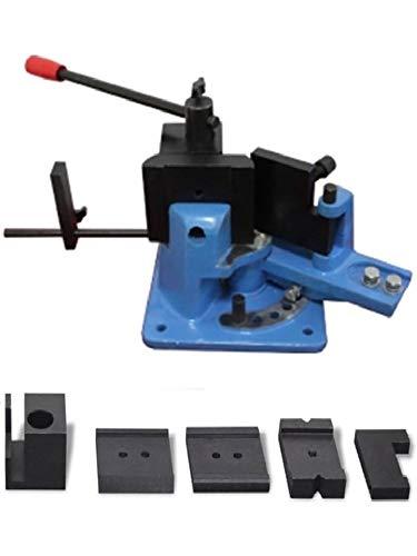 Cintreuse Manuelle - Plieuse - Presse à cintrer fer plat plein 70 x 15 mm/presse d'angle de serrage (TM/2055003)