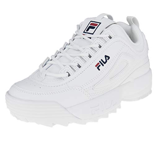 Fila Women Sneakers Heritage Disruptor Low White 38 c4e198f2bb7