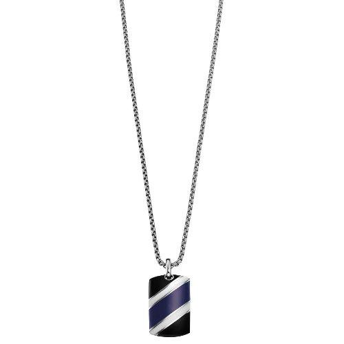 Joop! Unisex Halskette Edelstahl rhodiniert Color Code 50 cm S.JPNL10527A500