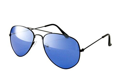 OCCHIALI DA SOLE NERD WAYFARER AVIATOR Unisex UOMO DONNA GOCCIA Black Blue Pilot