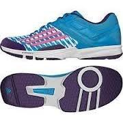 adidas Performance, Scarpe da pallamano donna blau/pink / lila 8,5 UK - 42,2/3 EU