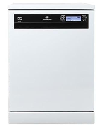 Continental Edison CELV1539W Autonome 15places A+++ lave-vaisselle - lave-vaisselles (Autonome, Blanc, Noir, Blanc, LCD, 15 places, 39 dB)