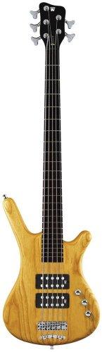 Warwick Corvette Rockbass $$ Bass Guitar (5 String, Oil Finish, Honey Violin)