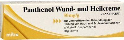 Panthenol Wund- und Heilc 20 g