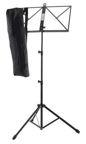 Classic Cantabile Notenständer inkl. Tasche (Höhenverstellbar, 44-97 cm,...