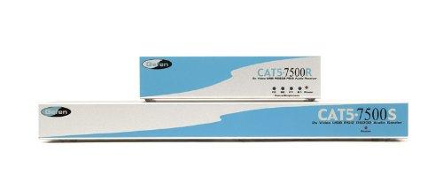 Gefen EXT-CAT5-7500 2 fach KVM VGA PS2 USB analog Audio bis 100 Meter (Vga-bundle)