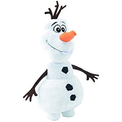Simba 6315873197 - Disney Frozen, Peluche di Olaf, il pupazzo di neve, 50 cm - Disney World Photo