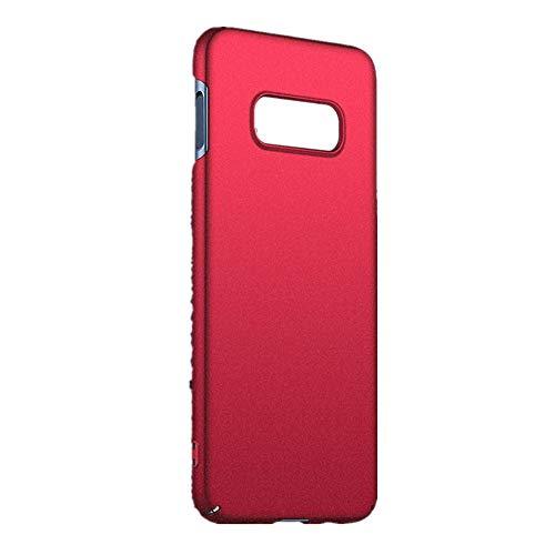 XNBZW Ultradünne Luxus-Hard-PC-Schutzhülle für Samsung Galaxy S10e 5.6inch(S10e 5.6inch,rot)