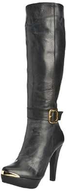 Marta Jonsson Womens Boots 6161 Black 6 UK, 39 EU