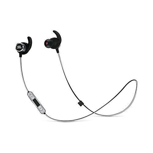 JBL Reflect Mini 2 Bluetooth Kopfhörer in Schwarz - Sport Headphones wasserabweisend - Wireless In Ear Kopfhörer kabellos - Bis zu 10 Stunden Akkulaufzeit -