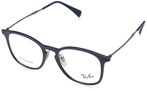 Ray-Ban Unisex-Erwachsene Brillengestell 0rx 8954 8030 50, Blau (Blue/Grey Graphene)