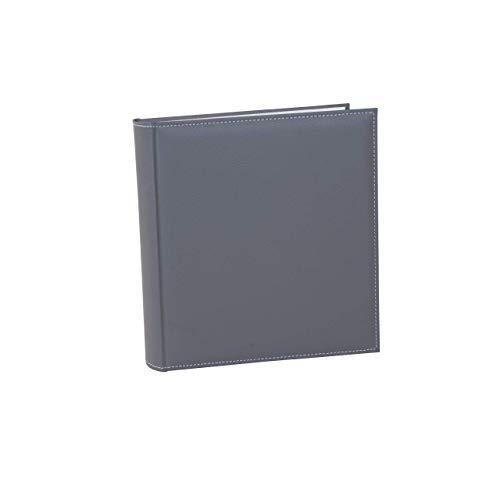 Goldbuch Fotoalbum, Cezanne, 30 x 31 cm, 100 weiße Seiten mit Pergamin-Trennblättern, Kunstleder, Stein, 31809