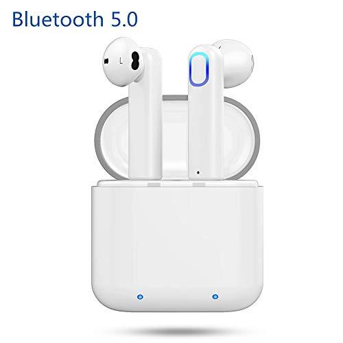 Bluetooth Kopfhörer, Mini Wireless In Ear Headset Bluetooth 5.0, 360H In-Standby-Headset mit eingebautes Mikrofon und kompatibel mit Android/IOS Ipod Wireless Headset
