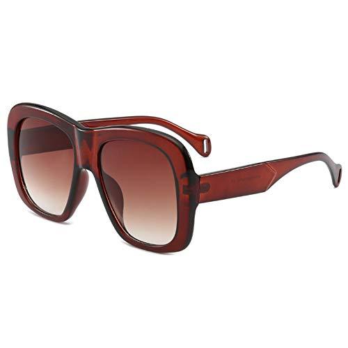 Liuao 2019 New Two-Tone Sonnenbrillen Fashion Square Ocean Stück Brille Damen Sonnenbrille,Style 3