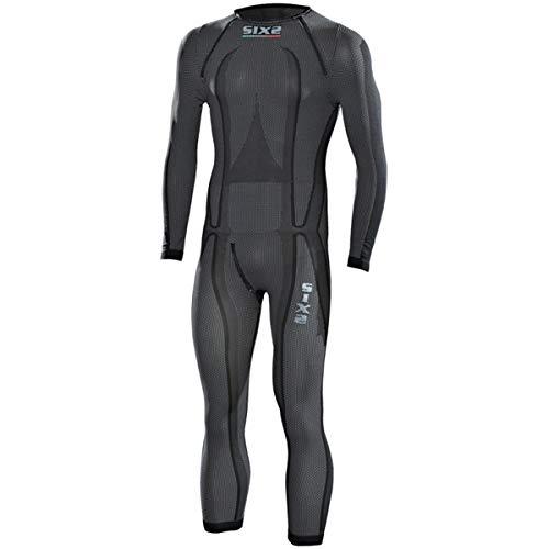 SIXS Carbon Funktions-Unterbekleidung Overall schwarz XL - Motorrad Unterbekleidung