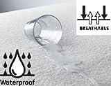 Coprimaterasso Protezione per materasso impermeabile 70 x 140 cm, per lettino o culla, in spugna traspirante