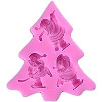 Provide The Best Pastel de Silicona del árbol de Navidad de Molde de la Torta Pasta