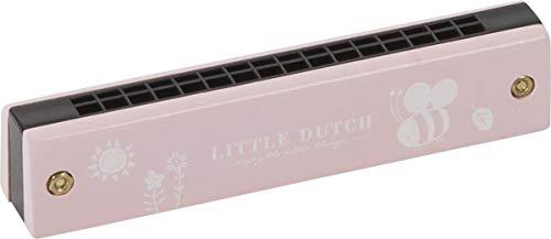 LITTLE DUTCH 4402 Kinder Mundharmonika Holz adventure pink