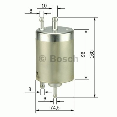 Bosch F5003-1 Filtre /à carburant essence MB