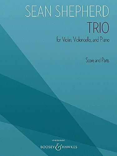 Trio: Klaviertrio. Partitur und Stimmen.