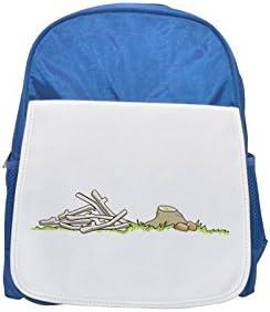 Dead branches printed kid's Bleu  backpack, Cute backpacks, cute small backpacks, cute Noir  backpack, cool Noir  backpack, fashion backpacks, large fashion backpacks, Noir  fashion backpack | Respectueux De L'environnement