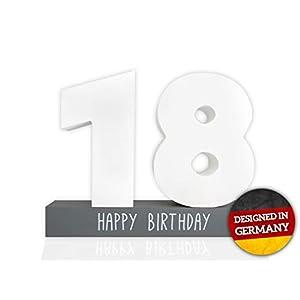 Huckleberry Home® Gästebuch Geburtstag aus Holz – Gästebuch für den Geburtstag für Männer und Frauen inkl. Stift…