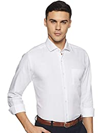 Diverse Men's Solid Slim Fit Cotton Formal Shirt