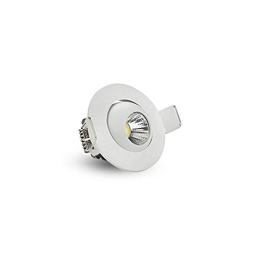 BEDKING Ultradelgado Mini Empotrado Cuadrado 5w / 7w / 12w Foco Reflector...