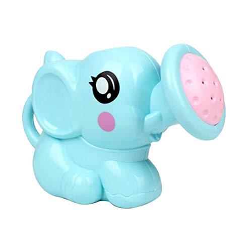 BESPORTBLE Kunststoff Elefant Gießkanne Bad Spielzeug Niedlichen Cartoon Baby Bad Dusche Werkzeug Wasser Spielzeug für Kinder Kinder (Blau)