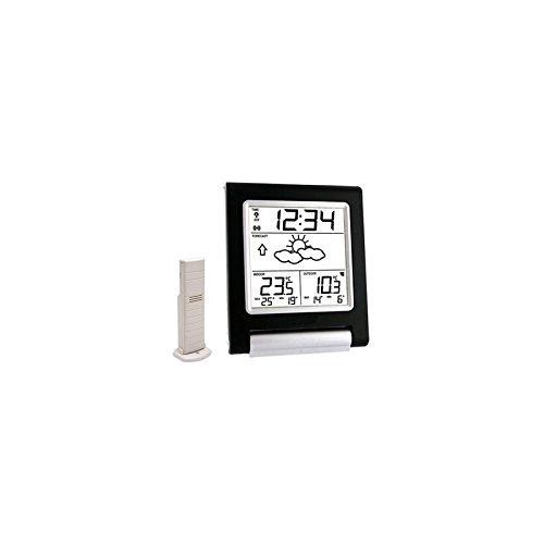 La Crosse Technology - Estación meteorológica con indicador de Temperatura Interior/Exterior, Chocolate...