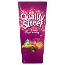Boite de chocolat Anglais Quality Street