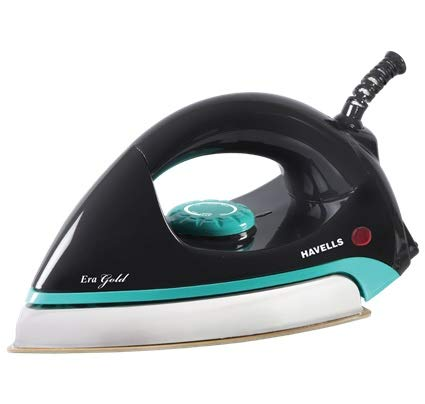 Havells Era Gold 1000-Watt Dry Iron (Era Teal Gold)