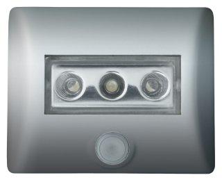 LED-Leuchte OSRAM ''Nightlux'' Bewegungsmelder, silber von Lasermax bei Lampenhans.de