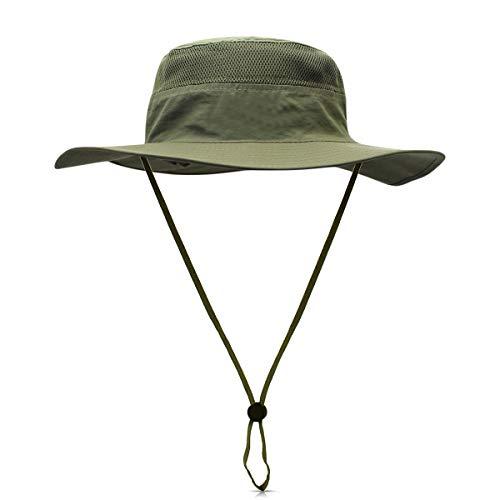 DORRISO Unisex Cappello da Pesca Antivento Protezione UV UPF 50+ attività  Escursionismo Vacanza Arrampicata Campeggio 1bfd87046a8f