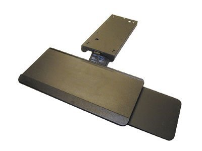 Waterloo Premium Arm, Keyboard Tray & Mouse Tray Package Black by Waterloo