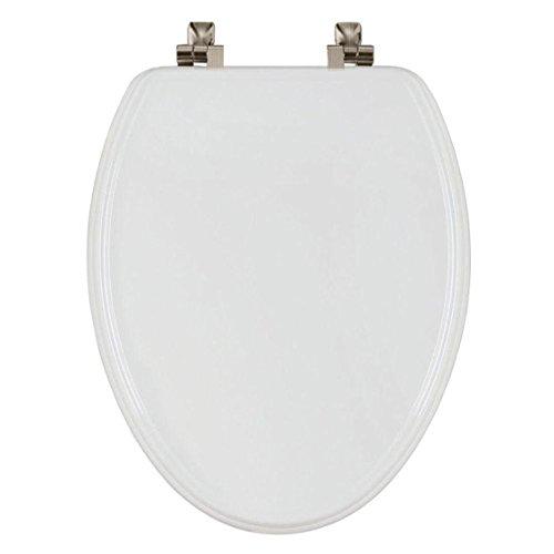 – Tite lang gestreckt geschlossen Front WC-Sitz in weiß