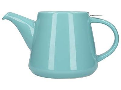 London Pottery Company 78405 Théière avec infuseur Hi-T avec filtre et bac d'égouttement intégré en grès