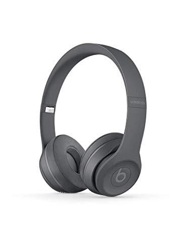 Beats Solo3 MPXH2ZM/A Wireless On-Ear Headphones (Asphalt Gray)